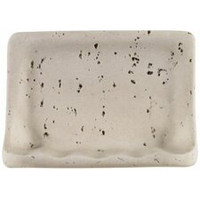 Classic Travertine Resin Soap Dish