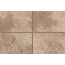 """Natural Mirador 13"""" x 3"""" Bullnose Tile Trim in Brown Pearl"""
