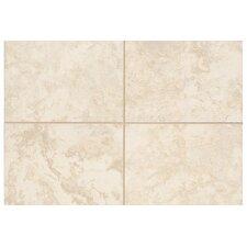 "Natural Pavin Stone 2"" x 2"" Mosaic Bullnose Corner Tile Trim in White Linen (Set of 2)"