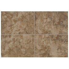 "Natural Pavin Stone 2"" x 2"" Counter Rail Corner Tile Trim in Brown Suede"