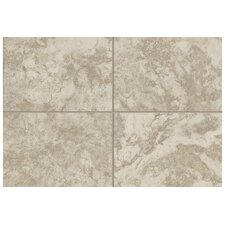 """Natural Pavin Stone 12"""" x 3"""" Bullnose Tile Trim in Gray Flannel (Set of 2)"""