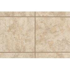 """Ristano 1"""" x 1"""" Quarter Round Corner Tile Trim in Crema (Set of 2)"""