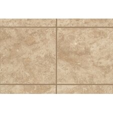 "Ristano 12"" x 3"" Bullnose Tile Trim in Noce (Set of 2)"