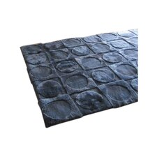 Shortwool Design Lunar Ink Blue Area Rug