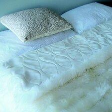 Bowron Accessories Lambskin Minx Wool Throw
