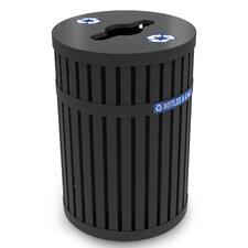 ArchTec Series 45-Gal Parkview 3 Recycling Receptacle