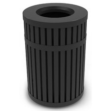 ArchTec Series 45-Gal Parkview 3 Trash Receptacle