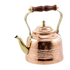 2 Qt. Solid Hammered Tea Kettle