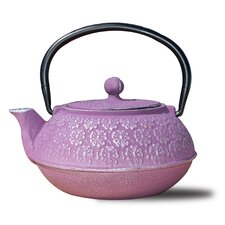 0.68 Qt Teapot and Infuser in Plum
