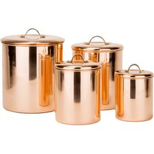 Old Dutch 4 Piece Canister Set