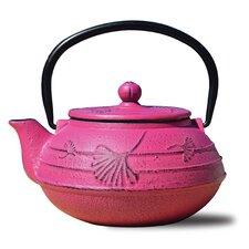 Ginkgo Teapot in Fuchsia