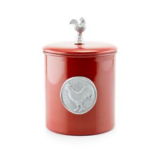 Red Rooster 4-Quart Cookie Jar