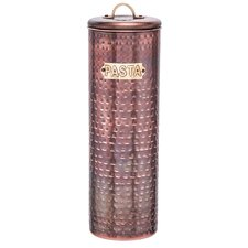 Copper Pasta Canister
