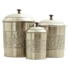 Victoria 3-Piece Canister Set