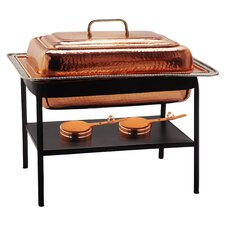 Rectangular Decor Copper Chafing Dish