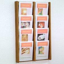 8 Pocket Wall Display