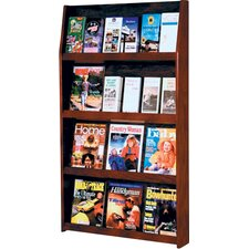 12 Magazine / 24 Brochure Wall Display