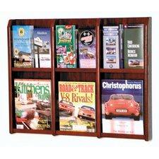 6 Magazine / 12 Brochure Wall Display