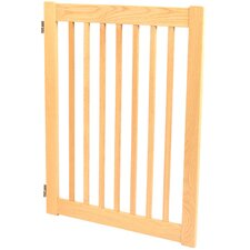 "Amish Handcrafted 32"" Outdoor Pet Gate"