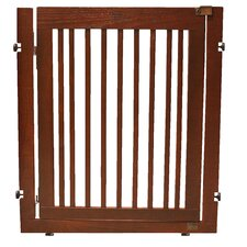 "Amish Handcrafted 36"" Citadel Pressure Mount Pet Gate"