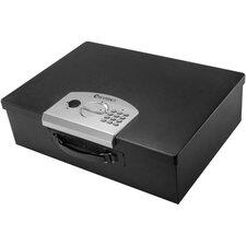 Digital Portable Keypad Lock Security Safe 0.63 CuFt