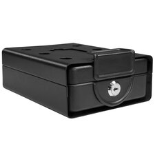 Drawer Style Compact Key Lock Safe with Lid