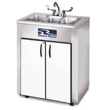 "Elite Series 26"" x 18"" Triple LS Hand-Wash Sink"
