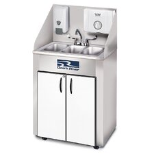 "Elite Series 26"" x 18"" Triple Pro 3 Hand-Wash Sink"