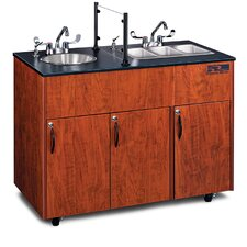 "Advantage 48"" x 24"" Triple Pro Hand-Wash Sink"
