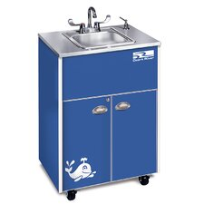 "Splasher Series 26"" x 18"" Single Hand-Wash Sink"
