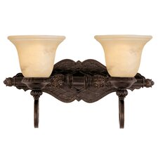 Knight 2 Light Bath Vanity Light