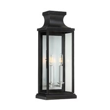 Brooke 2 Light Outdoor Wall Lantern