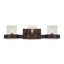 Brione 3 Light Bath Vanity Light