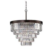 Tierney 9 Light Crystal Chandelier