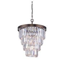 Tierney 4 Light Crystal Chandelier