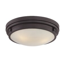 Lucerne 3 Light Flush Mount
