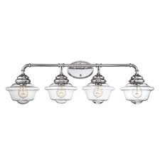 Fairfield 4 Light Vanity Light