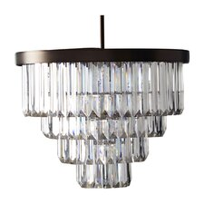 Tierney 6 Light Crystal Chandelier