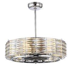 Taurus 6 Light Air Ionizing d'Lier Ceiling Fan