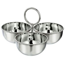 Town and Country 3 Piece Nut Dish