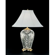 """Kilkenny 29"""" H Table Lamp with Bell Shade"""