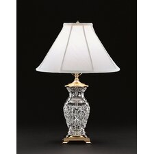 """Kingsley 22"""" H Table Lamp with Bell Shade"""