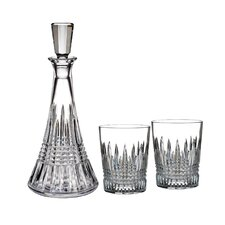 Lismore Diamond 3-Piece Decanter Set