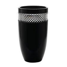 Black Cut Vase