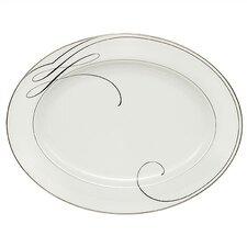 Ballet Ribbon Oval Platter