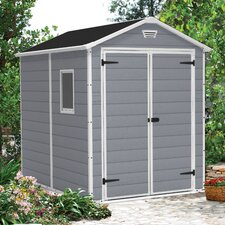 Manor 6 Ft. W x 8 Ft. D Resin Storage Shed