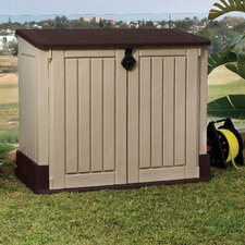 Woodland 4 Ft. W x 2 Ft. D Plastic Garden Shed