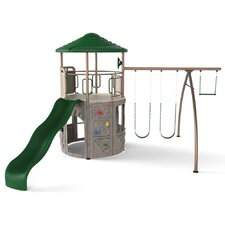 Adventure Tower Swing Set