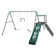 Climb and Slide Play Swing Set