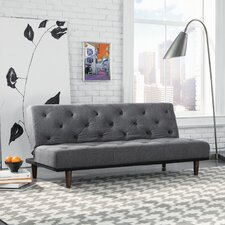 Premier Crash Convertible Sofa in Gray